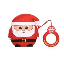 -New Kawaii Christmas Elements Cases For Air Wireless Bluetooth Headset Air Wireless Bluetooth Headset Cases Silicone on JD