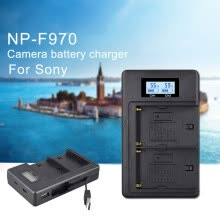 -Digital Battery LCD Display Charger Applicable for Sony Camera F750 F990 on JD
