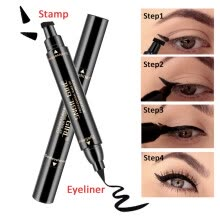 -Stamp Eyebrow Tattoo Pen Waterproof Fork Tip Sketch Makeup Pen Microblading on JD