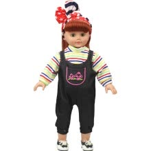 -DIY Doll Clothes Dress For 18 inch Doll Baby Kids Gifts Jumpsuit Party Clothes on JD