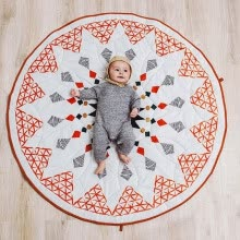 -Baby Blanket Rhombus Play Mats Soft Games Carpet Newborn Bedding Toy Kids Gift on JD