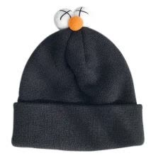 -Winter Hats For Women Beanie Cap Solid Warm Hats Knitted Skullies Beanies Man Thick Warm Caps Black Purple Orange White Colors on JD