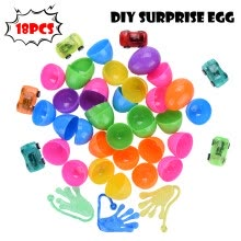 balloons-18 Toys Filled Surprise Eggs, 2.5 In Bright Colorful Prefilled Plastic Surprise on JD
