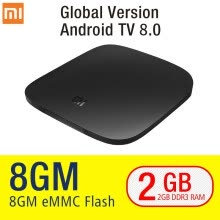 set-top-boxes-Глобальная версия Xiaomi Mi TV Box 3 Android 6.0 4K 8GB HD WiFi Bluetooth Многоязычный Youtube DTS Dolby IPTV Smart Media Player on JD