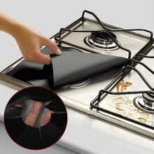 -Reusable Gas Range Stovetop Burner Protector Liner Cover For Cleaning Kitchen on JD