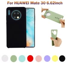 -Ultra-Thin Silicone Leather Soft Case Cover  For HUAWEI Mate 30 6.62inch on JD