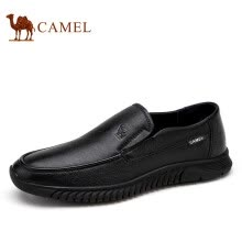 -Camel (CAMEL) soft sole casual shoes business leather shoes men's footwear dress shoes A012297060 black 39 on JD