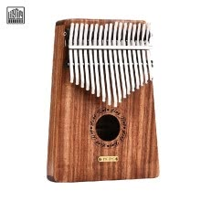 -LINGTING K17Y 17-key Portable Thumb Piano Kalimba Mbira Sandalwood Solid Wood with Storage Bag Carry Case Music Book Stickers Tuni on JD