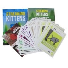 arts-crafts-Streaking Kittens  Innovative Childrens Puzzle Cards Kittens Party Pack Game Kitten Board Games Cards for Kids on JD