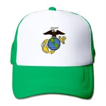 25c9705aaa9 Oiir Ooiip USMC-Eagle Globe and Anchor Unisex Adjustable Mesh Baseball Cap  Dad Trucker Hats