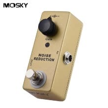-MOSKY MP-40 Noise Gate Noise Reduction Suppressor Mini Single Guitar Effect Pedal True Bypass Gold Color on JD