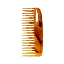 -Mnycxen NEW Massage Amber Color Beef Tendon Comb Natural Portable Hair Beard Health Care on JD