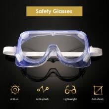 outdoor-lighting-Safety Goggles Transparent Protective Glasses Eyewear-Prevent UV Proof Splashproof Eye Protect on JD