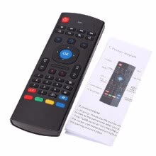 -MX3 Portable 2.4G Wireless Remote Control Keyboard Controller Air Mouse for Smart TV Android TV box mini PC HTPC on JD