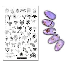 -DIY Nail Art Stamp Stamping Plates Manicure Template Nail Stamping Plates on JD