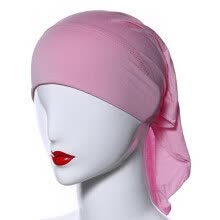 ethnic-wear-Muslim Women Soft Comfortable Inner Hijab Caps Islamic Underscarf Hats on JD