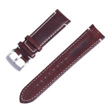 -Leather Watch Strap Band Stainless Steel Buckle Wristwatch Bracelet Accessories on JD
