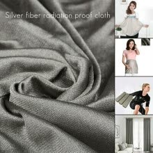-RFID/EMI Blocking Radiation Protection Shielding Silver Fiber Conductive Fabric on JD