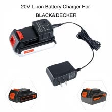 -20V Tools Li-ion Battery LCS1620 Charger ForBLACK For DECKER/PORTER-CABLE/STANLEY on JD