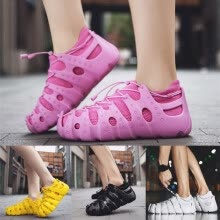 -Couples Ladies Fashion Roman Space Shoes Outdoor Woven Breathable Sneakers on JD