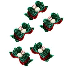 -5Pcs Pet Hair Ties Snowman Design Hair Ties Cute Headdress Colorful Hair Band Hair Ring Hair Decoration for Cat Pet Dog on JD