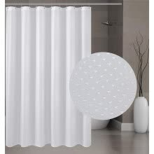 -Fabric Shower Curtain Mildew Resistant Washable Water Repellent Spa Bathroom Cur on JD