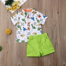 -Toddler Baby Boy Gentleman Tops T-shirt Short Pants Outfits Set Clothes on JD