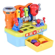 -Musical Learning Workbench Toy For Kids Construction Work Bench Building Tools on JD