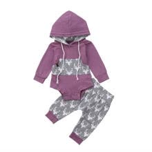 -Newborn Baby Boy Girl Deer Long Sleeve Romper Hooded Tops Pants 2Pcs Outfits Set Clothes Hot Sale! on JD