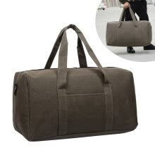 -Fashionable Sports Casual Canvas Breathable Waterproof Travel Large Capacity Tote Bag on JD