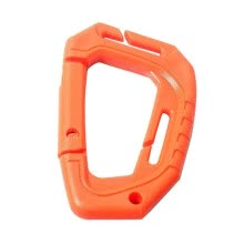 -4Pcs Plastic Snap Clip Carabiner Climbing Buckle Outdoor Hanging Keychain Hook on JD