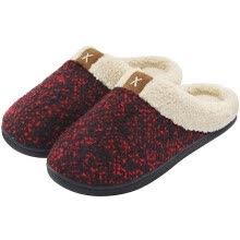 other-men-shoes-Lionstill Men's Foam Anti-Skid Plush Fleece Lined Slippers House Shoes on JD
