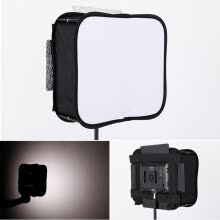 -Black LED Flash Grid Light Folding Softbox Studio Light Portable Portrait Shooting Special Softbox Light Box Camera Accessories on JD