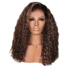 -Toyfunny Sexy Women Fashion Afro Long Kinky Curly Hair Wavy Wigs Lace Front Wig Party Wig on JD