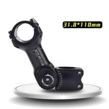 -Adjustable 60 Rise Stem for XC MTB Mountain Road City Bike Bicycle Cycling Part on JD