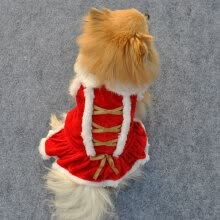 -Christmas Dog Dress Winter Pet Clothes Xmas Party Dog Costume Cat Clothes Pet Dog Clothing Dresses AB on JD