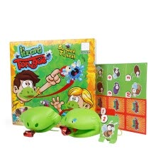 -Elenxs Board Game Bug Catch Card Game Kid Tongue Pest Playset Children Party Family Desktop Playset Toy on JD