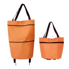 shopping-bags-Shopping Trolley Bag Portable Foldable Large Capacity Grocery Bag Shopping Bag on JD
