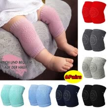 -6Pairs Kids Baby Safety Sport Crawling Elbow Cushion Knee Pads Protective Gear on JD