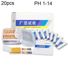-20pcs/Box PH Value Alkaline Acid Litmus Precision Testing Paper Tester Water Quality Test Paper PH Meters Indicator Pape on JD
