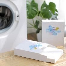 laundry-24pcs/box Color Absorption Anti Staining Supplies Washing Machine Laundry Paper on JD