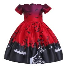 -Toddler Kids Girls Cartoon Princess Pageant Gown Halloween Party Wedding Dress on JD