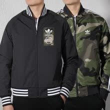 -Adidas ADIDAS Clover Men's Clover Series REV JACKET Sports Duplex Jacket DX4219 S Code on JD