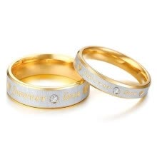 -Stainless Steel Couples Rings for Lovers Valentine's Day Wedding Ring Men Women Rings High Quality Jewelry Gift on JD