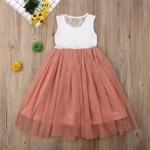 -Summer Toddler Baby Kids Girls Lace Tutu Dresses Party Pageant Princess Dress Sundress on JD