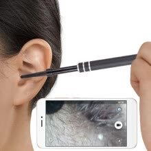 -HD Visual Earpick Ear Cleaning Tool 1 Million Pixels Camera LED Light Match with Android Phone on JD