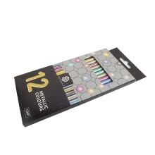-Mnycxen 12 Color Metallic Color Pencil Hand Account Graffiti Painting Color Lead on JD