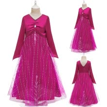 -Kids Girls Cosplay Princess Pageant Birthday Party Perform Dress Clothes on JD