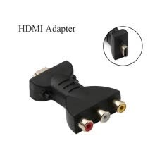compact-digital-cameras-For Signal Transfer HDMI To 3 RCA Video Audio Converter Gold-plated HDMI To AV Video Adapter Converter on JD