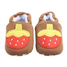 -Baby Shoes Infant Cartoon Soft Sole Shoes Toddler Walking Shoes(Khaki,11cm) on JD